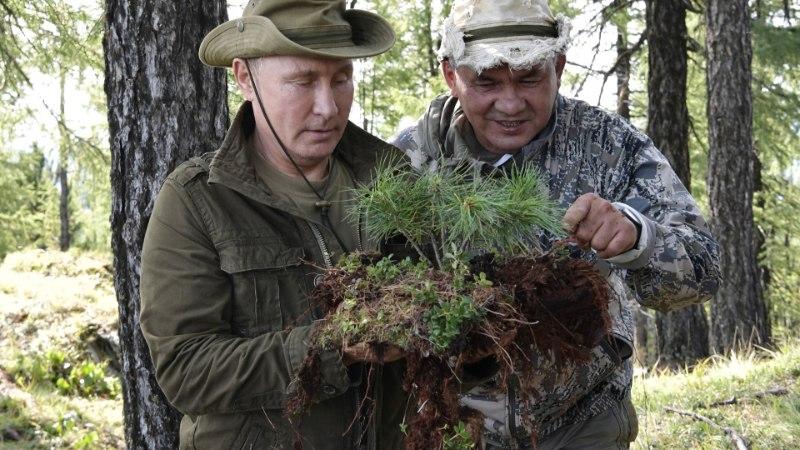 FOTOD | Putin käis Siberis matkamas
