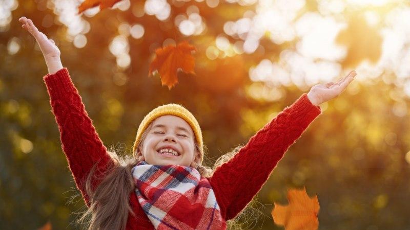 Kuidas teha helkuri kandmine lapse jaoks lõbusaks?