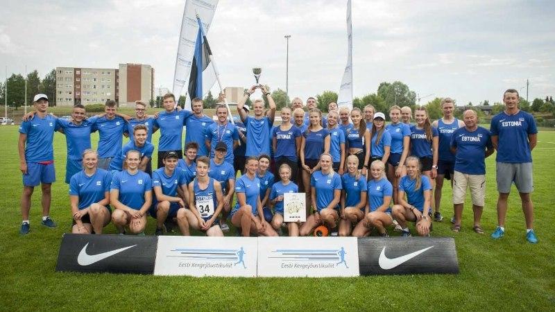 SUPER! Eesti U18 koondis võitis Balti meistrivõistlused