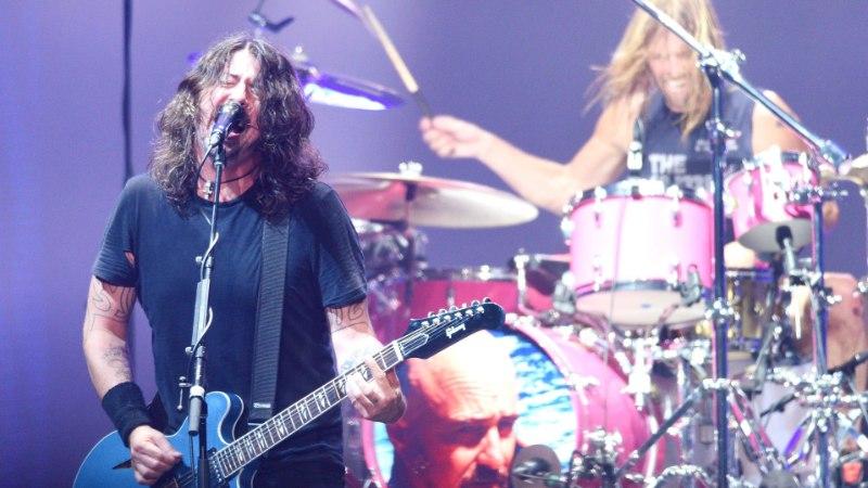 Foo Fightersi Dave Grohl salvestas 23minutilise pala