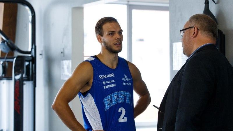 Kuidas korvpallikoondist kokku saada? Peatreener Sokk: kogu aeg käib mingi kauplemine...