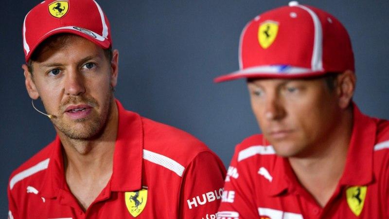 Sebastian Vettel rammis sõuüritusel seina, sest kasutas Räikköneni vormelit