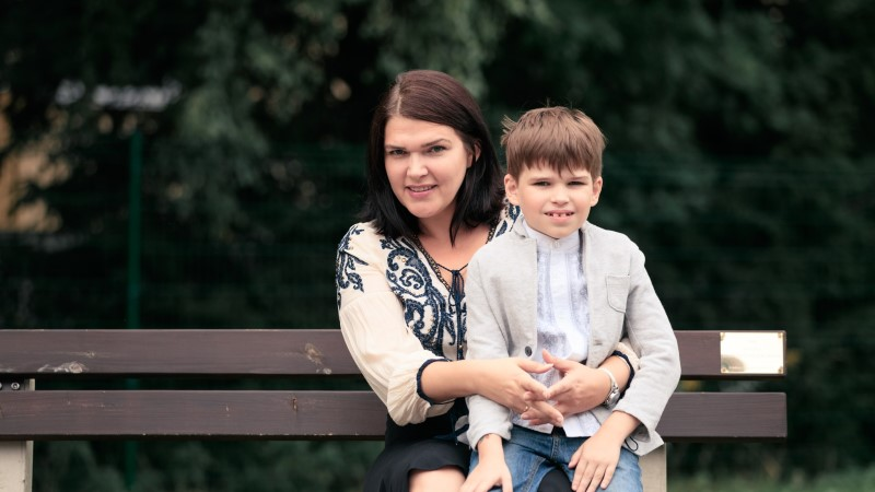 Manona Paris | Kiri pojale esimeseks koolipäevaks