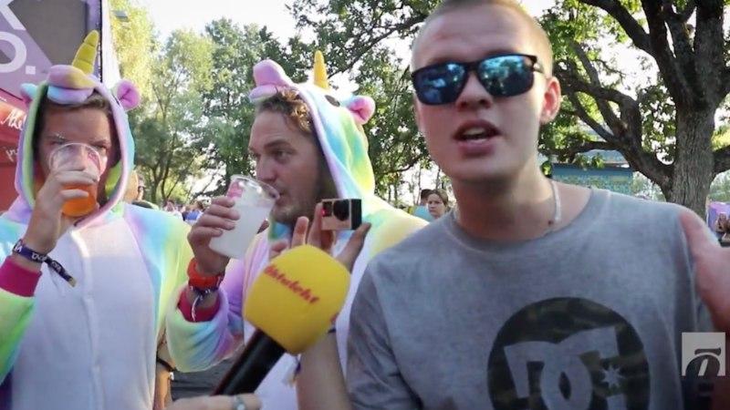 AUGUST VIDEOS | Anu Saagim Terminaatori kitarristi aluspükste kallal, purjus ükssarved Weekendil ja slackliner Tallinna kohal