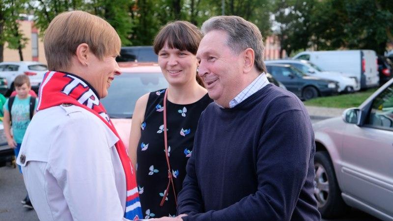 GALERII | ÜLLATUS! Pärnu röövis presidendi silme ees mänginud Narva Transilt punkte