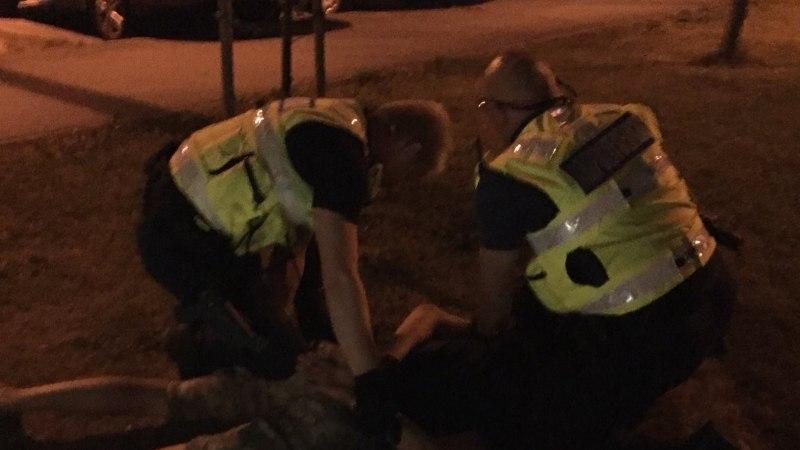 Lasnamäel lasti meest õhkrelvast, sündmuskohale jõudnud politseinikke ähvardati mängurelvaga