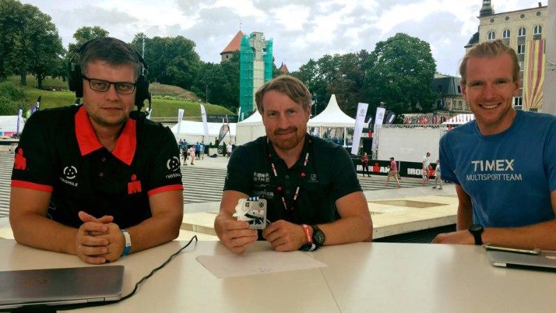 Raudmeestest kommentaatorid - kuidas Ivar Jurtšenko ja Margus Ader 17tunnist triatloniülekannet vedasid