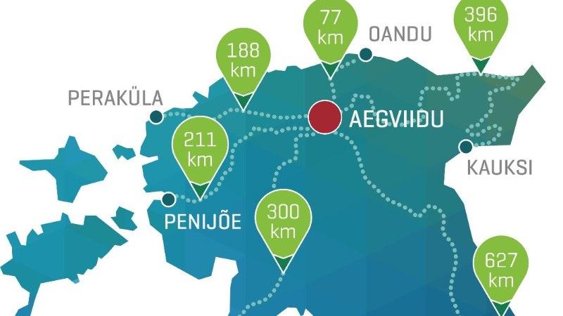 Kolm nädalat ja 1800 kilomeetrit: sajad inimesed vallutavad Eesti metsarajad
