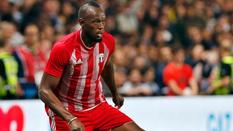 Jalgpallur Usain Bolt läheb testimisele: olen väga põnevil
