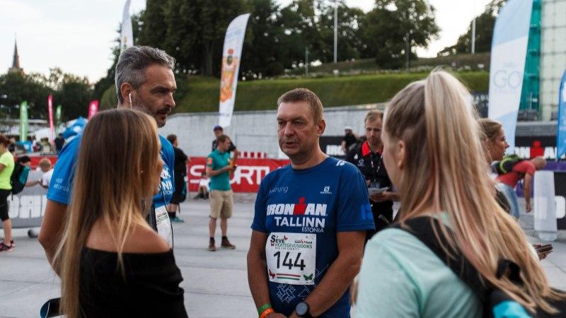 VIDEO | Raudmees Raivo E. Tamm: väga halb oli olla, mulle kutsuti kiirabi, aga see ei jõudnud kohale ja otsustasin edasi joosta!