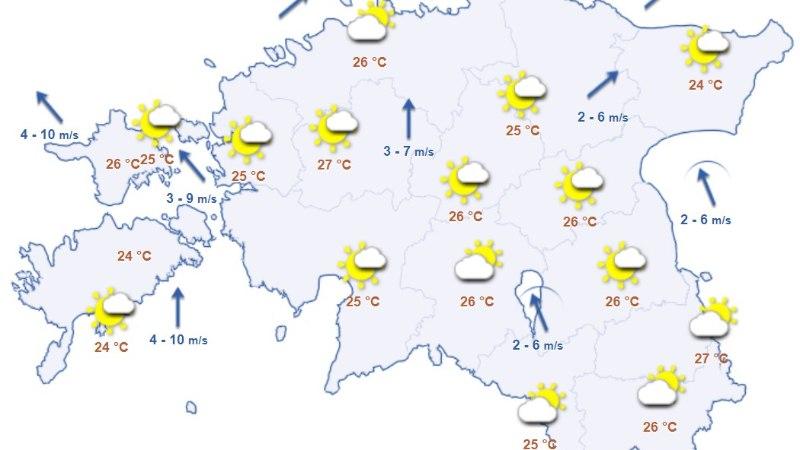 Ilmateenistus hoiatab: ilm muutub taas ohtlikult kuumaks