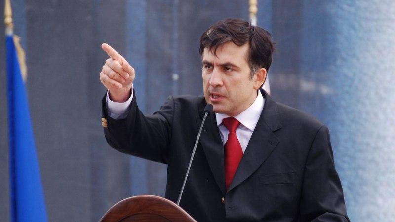 Саакашвили назвал Медведева нулем и рассказал об отношениях с Путиным