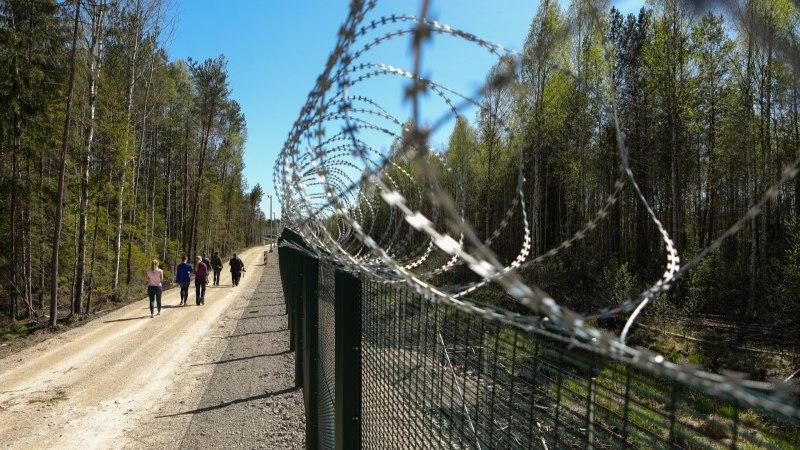 ÜKS KÜSIMUS: kas Eesti-Vene piiri saaks väljaehitada kiiremini?