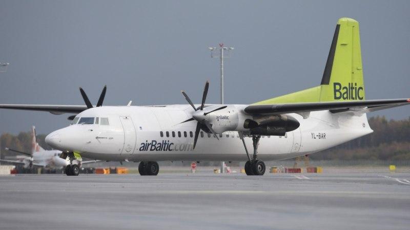 В момент случайного запуска ракеты в Таллинн летел самолет airBaltic. Но авиакомпании об этом не сообщили
