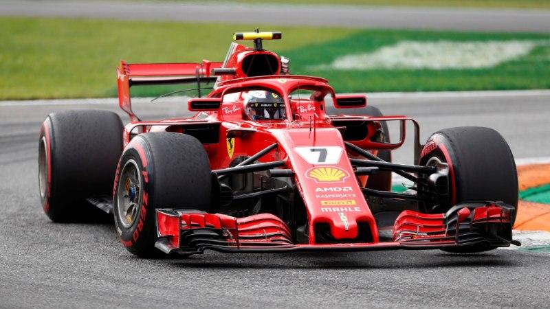 HOOAJA ESIMENE! Räikkönen võitis Monza kvalifikatsiooni