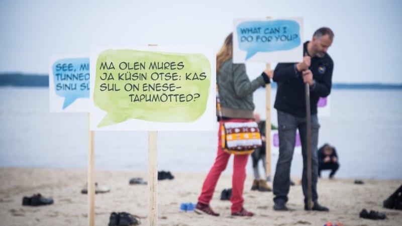 UURING: Eestis on enesetappude arv jätkuvalt üks kõrgemaid Euroopas