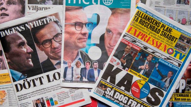 Правые партии в Швеции получили в парламенте больше мест, чем на прошлых выборах