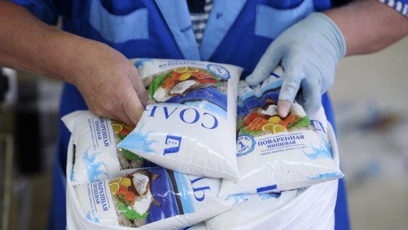 В России перестанут продавать поваренную соль