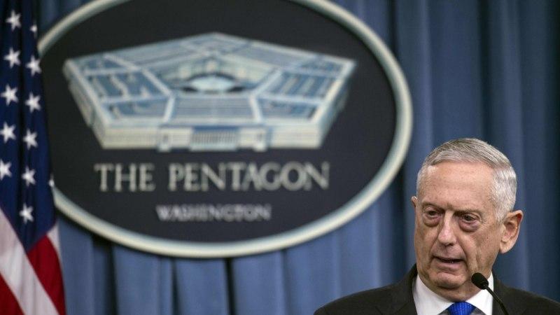 Пентагон отрицает использование запрещенных боеприпасов в Сирии