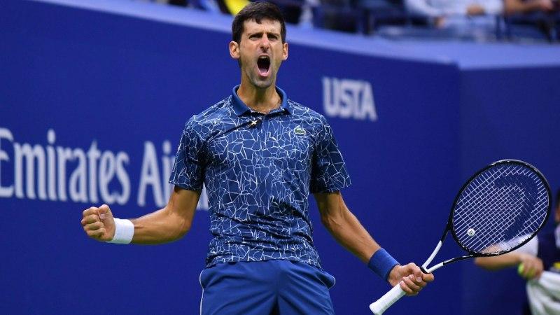 Djokovic triumfeeris US Openil ning tõusis legendaarse Pete Samprasega ühele pulgale