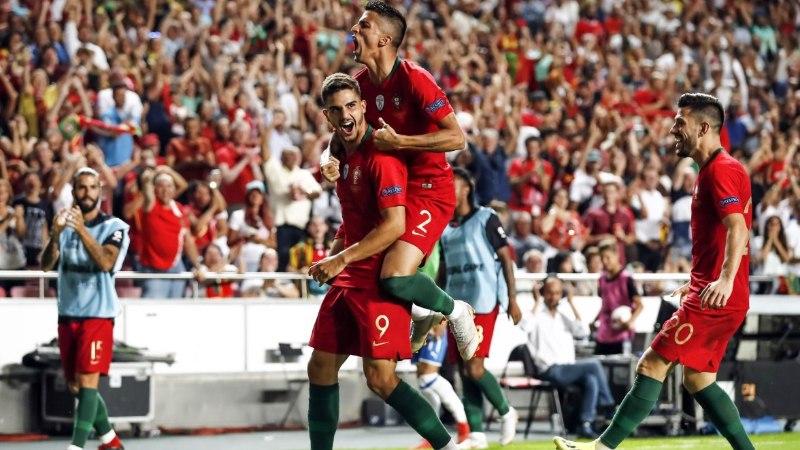 RAHVUSTE LIIGA | Pole Ronaldot, pole probleemi! Portugal ei andnud Itaaliale võimalustki