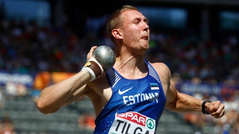 Mitmevõistleja Karel Tilga vigastas rängalt kätt, võistluspaus venib väga pikaks