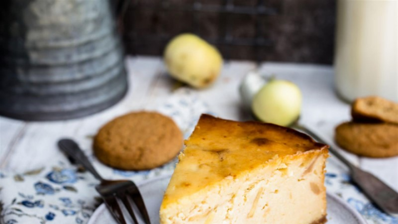 Õuna-juustukook