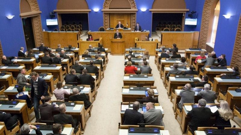 VIDEO | VEB Fondi kahjude hüvitamise eelnõu läbis riigikogus esimese lugemise