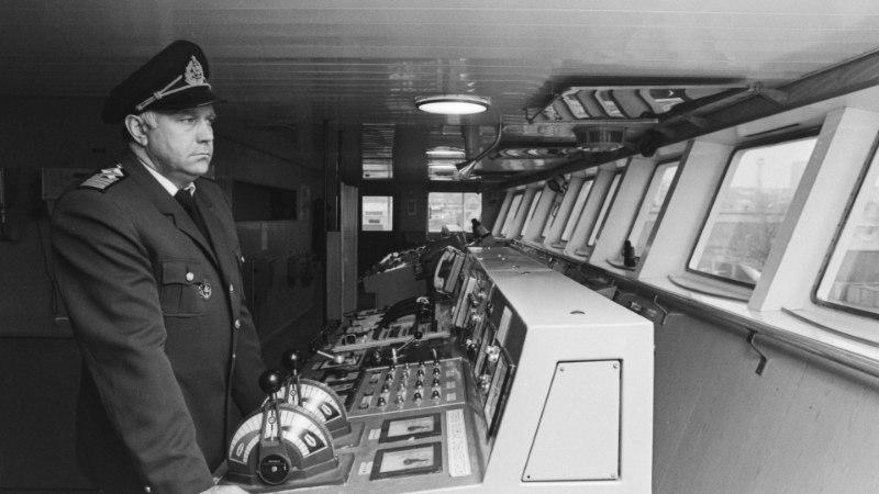 """VIIMANE INTERVJUU   Kapten Ülo Kollo: """"Küllap saadi Georg Otsast kõvasti manti heade naelte või nõelte näol. Selle laeva kere oli ju tugev."""""""