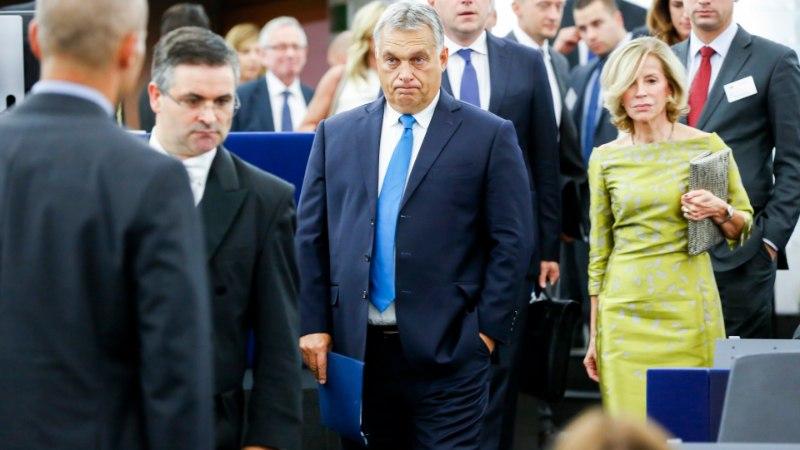 12 MUREPUNKTI PAGULASTEST ÜLIKOOLIDENI: Europarlament hääletas Ungarit tauniva resolutsiooni poolt