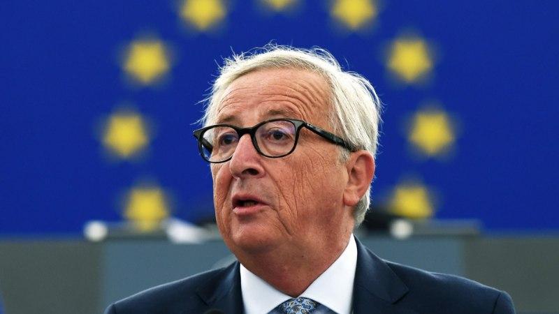 Jean-Claude Juncker pidas Euroopa Komisjoni presidendina oma viimase aastakõne