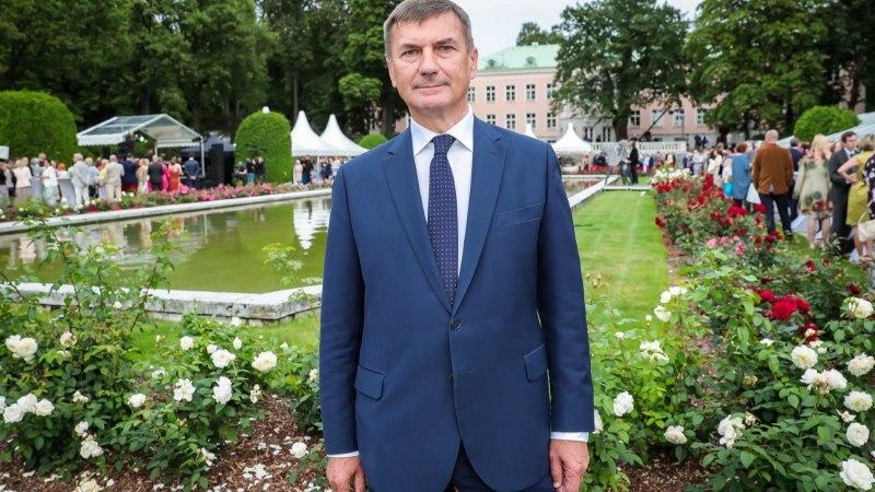 Андрус Ансип будет баллотироваться в Европарламент
