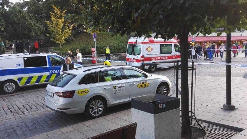 FOTOD | Tallinna linnavolikogu lähedalt leiti kahtlane ese