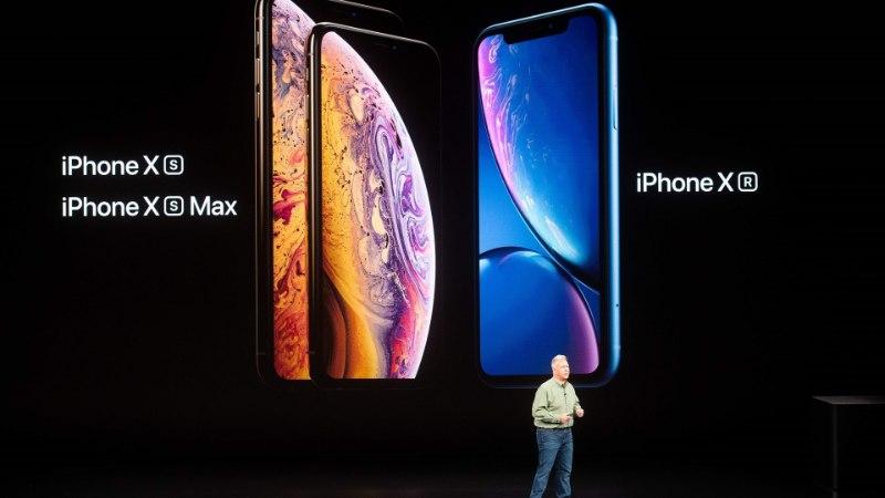 Apple представила три новейших модели iPhone