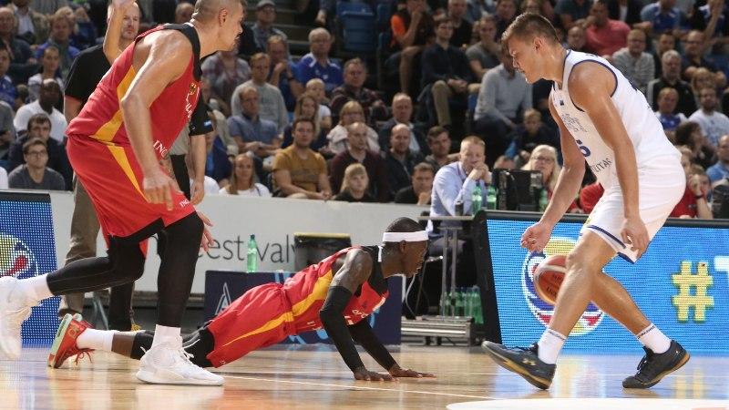 Saksamaa NBA-staar: eestlased ei visanud täna sisse, tavaliselt on see teistmoodi