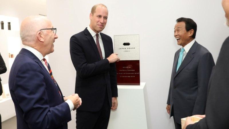 Prints William sai Jaapani kultuurikeskuses hakkama suure prohmakaga