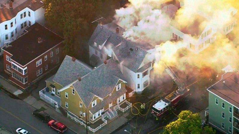 В США произошли взрывы и пожары в 80 домах: один человек погиб