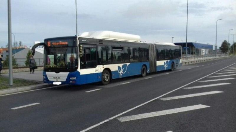 Tallinnas tabati alkoholijoobes bussijuht
