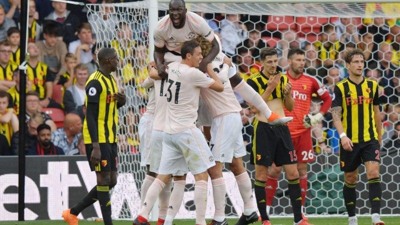 Man United katkestas Watfordi superseeria