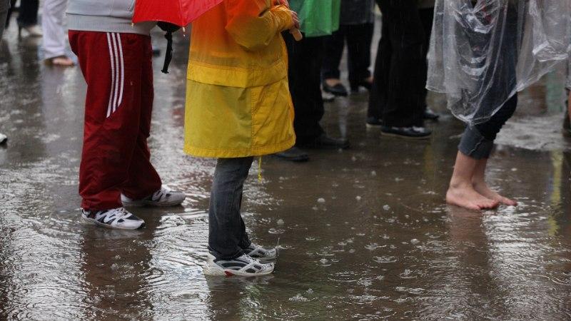 ILMAPROGNOOS: Maailmakoristuspäeval osalejatel tasub riietuda vihmakindlalt