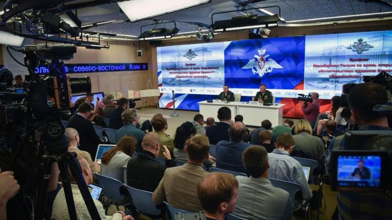 Venemaa kaitseministeerium pressikonverentsil: MH17 tulistas alla Ukraina!