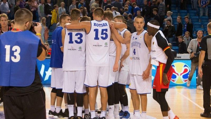 ÕHTULEHE ÜMARLAUD   25 eurot korvpallikoondise mängu eest? Seda on selgelt liiga palju!