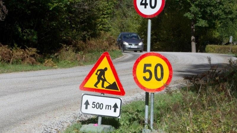 Loe, kus tuleb arvestada kiiruspiirangutega