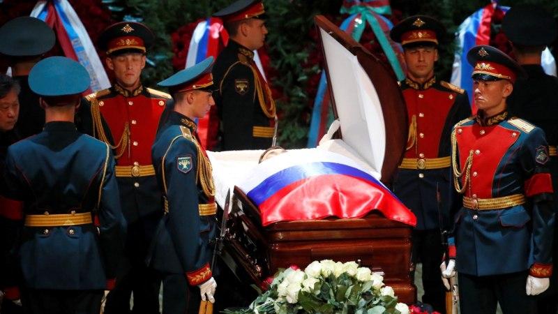 ФОТО: В Москве прошла церемония прощания с Иосифом Кобзоном