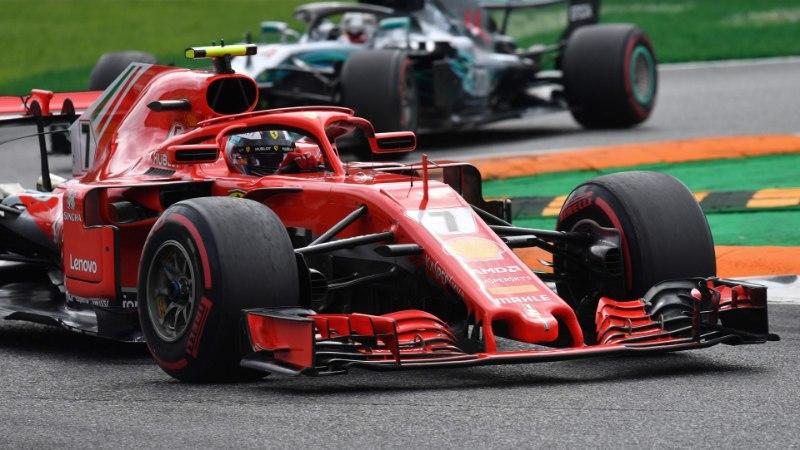 FOTOD | Täiesti ribadeks sõidetud rehvid maksid Räikkönenile etapivõidu