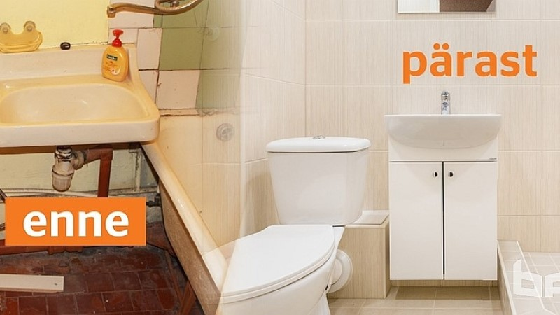 5 olulist sammu vannitoa remondi planeerimisel – paneelmaja vannitoa näitel