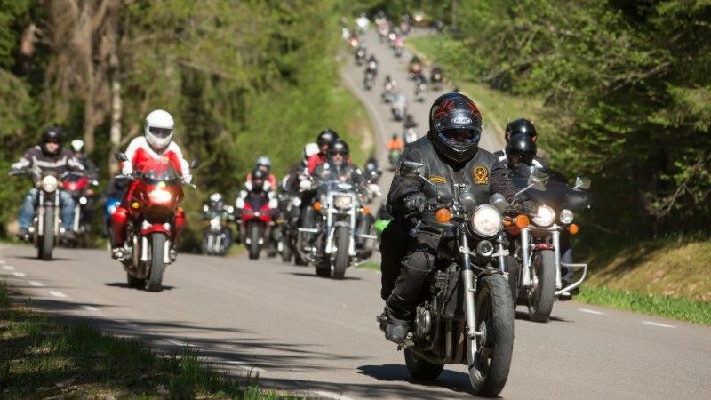 Tuhanded mootorratturid osalevad laupäeval Pärnus paraadsõidul