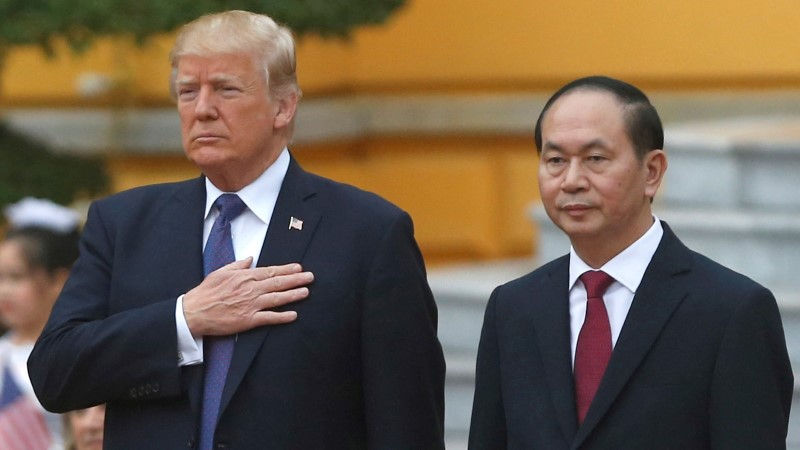 Suri Vietnami president Tran Dai Quang
