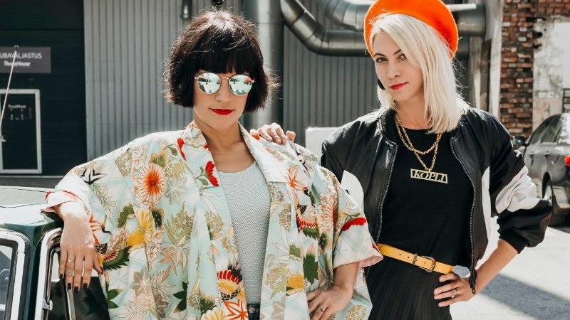 PIILUME GARDEROOBI   Kopli Couture vintage-poe pidajad näitavad oma välismaiseid sekkarileide!