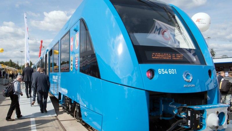 HÜVASTI, DIISEL: Saksamaal sõidavad esimesed vesinikrongid